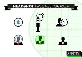 Foto de cabeza Paquete de vectores libres