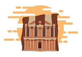 Vettore gratuito di Petra