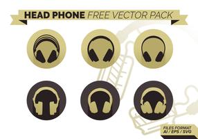 Hoofd Telefoon Gratis Vector Pack