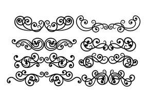 Vector de Scrollwork