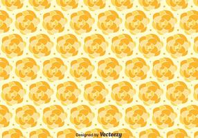 Orange Camellia Pattern Background