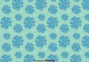 Blue Camellia Flowers Pattern Background vector