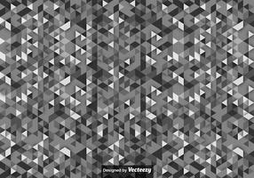 Vector Background With Gray Scale Triangles