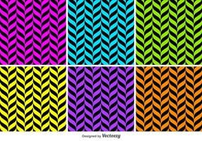 Geometrical Shapes Vector Backgrounds Pattern