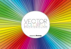 Vector Rainbow Colorful Abstract Template