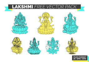 Lakshmi Gratis Vector Pack