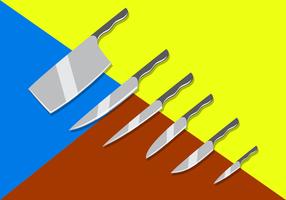 Freie Messer Vektoren