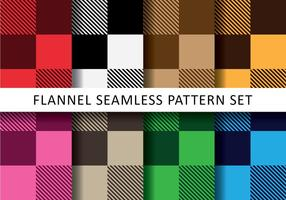Bright Colorful Flannel Vectors