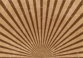 Brown Grunge Sunburst Background
