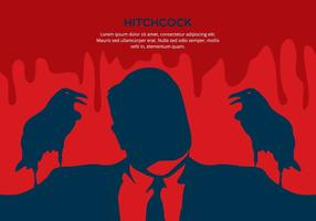 Red Hitchcock Background