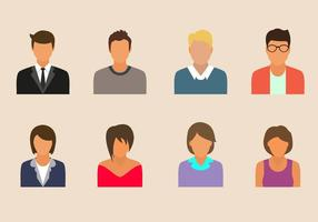 Gratis Personas Vector Collection