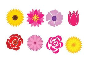 Flower icons download free vector art stock graphics images flower icon vector mightylinksfo