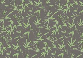 Bamboo Leaves Pattern Vector