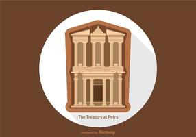 Free Vector Treasury At Petra