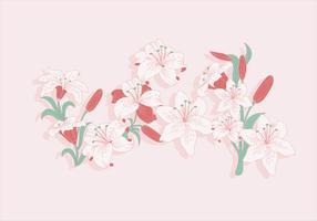 Pâques Lily Vector