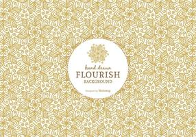 Gratuit Ornement Flourish vecteur de fond