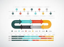 Infografía libre de elementos del vector