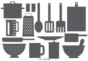 Element de cuisine Vector Shapes