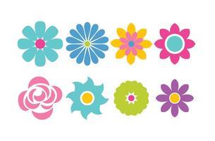 Icono de la flor del vector
