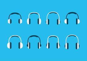 Icône Head Phone Set Vector gratuit