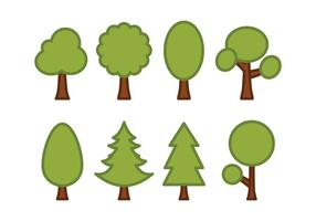 Arbres Vector Pack