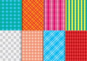 Bright Flanel Pattern Vectors