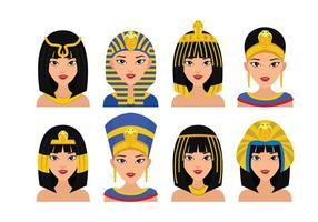 Cleopatra la reina del vector