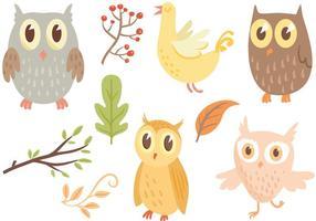 Free Owl Vectors