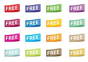 Vettori di etichette gratis