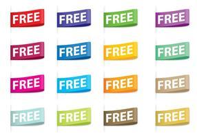 Etiquetas libre de vectores
