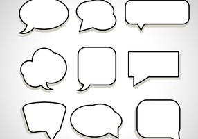 Message Chat Bubble Vectors