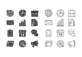 Business Icons Vektor