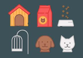 Pet Elements Vector