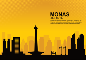 Monas Vector Illustration