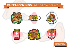 Buffalo Wings gratis Vector Pack