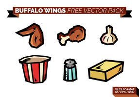 Buffalo Wings Paquete de vectores libres