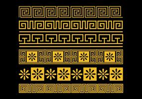 Greek Key Vector Set