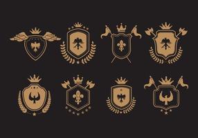 Blason vector ilustraciones simbólicas