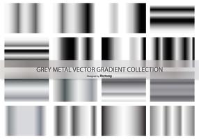 Grey Gradient Vector Sammlung