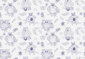 Buho Seamless Patterns