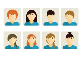 Personas Potrait Vector Icon