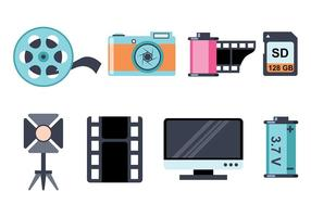 Photography Icon Vectors