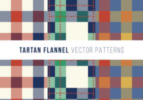 Tartan Flanell Gratis Vector