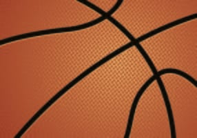 Vector Of Basketball Texture