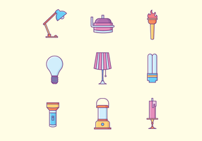 Free Lamps Icons