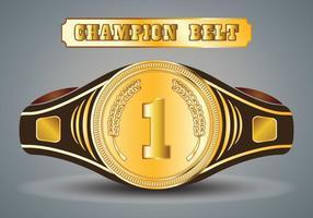 Vector Campeonato Cinturón