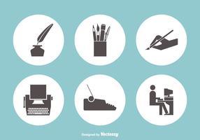Schreiben Vektor-Icons