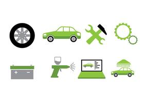 Car Auto Body Icon Vector