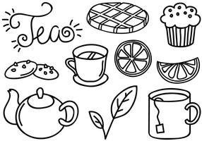 Vecteurs de thé gratuites
