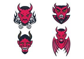 Vector libre de los diablos
